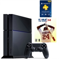 PlayStation 4 Bundle with MLB '14: The Show and 3-Month PS Plus Subscription