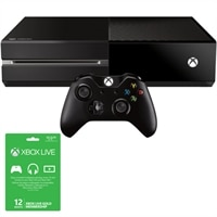 Xbox One System - No Kinect with 12-month Xbox Live Subscription