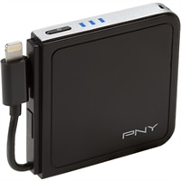 PNY PowerPack L1500 - External battery pack Li-pol 1500 mAh - for Apple iPhone 5, 5c, 5s; iPod touch (5G)