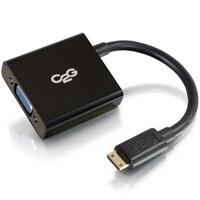 CABLESTOGO C2G HDMI to VGA Adapter Converter Dongle - Video converter - HDMI - black