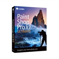 COREL CORPORATION Corel PaintShop Pro X7 Ultimate Mini-Box