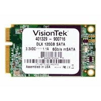 VisionTek DLX - Solid state drive - 120 GB - internal - mSATA - SATA 6Gb/s