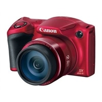 CANON Canon PowerShot SX400 IS Point & Shoot Camera 30x Optical Zoom 16 Megapixel - red