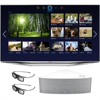 SAMSUNG Samsung 55 Inch LED Smart TV UN55H7150 3D HDTV bundle with FREE Samsung WAM-751 Shape Wireless Audio Speaker and 3D glasses (2pcs)