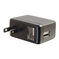 C2G AC to USB Power Adapter - Phone Charger - 5V 2A Output - USB Charger - Power adapter - 2 A (USB) - black