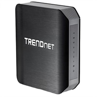 TRENDnet TEW-812DRU - Wireless router - 4-port switch - GigE - 802.11a/b/g/n/ac (draft 2.0) - Dual Band