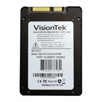 VisionTek GoDrive Series Low Profile 7mm - Solid state drive - 256 GB - internal - 2.5-inch - SATA 6Gb/s