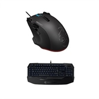 Roccat Tyon black gaming mouse Ryos TKL Pro Gaming Keyboard Blue Cherry MX Key Switch : Member Purchase