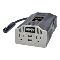 Tripp Lite PowerVerter Ultra-Compact Car Inverter - DC to AC power inverter + battery charger - 400-watt
