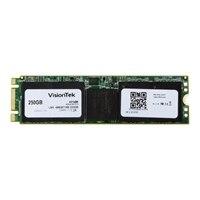 VisionTek - Solid state drive - 250 GB - internal - M.2 2280 - SATA 6Gb/s - 128-bit AES, 256-bit AES