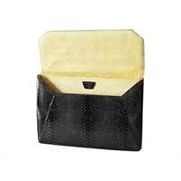 Women in Business Lexington Snake Skin Envelope Sleeve a Black, 13inch : Parts & Upgrades