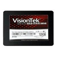 VisionTek - Solid state drive - 120 GB - internal - 2.5-inch - SATA 6Gb/s - 256-bit AES