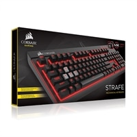 Corsair STRAFE Mechanical Gaming Keyboard - USB - English (US) - Cherry MX Red