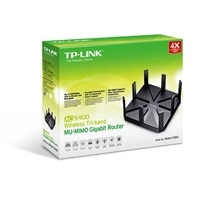 TP-LINK Archer C5400 - Wireless router - 4-port switch - GigE - 802.11a/b/g/n/ac - Dual Band