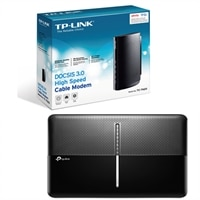 TP-LINK Archer C3150 - wireless router - 802.11a/b/g/n/ac - desktop - with DOCSIS 3.0 High Speed Cable Modem TC-7620