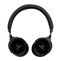 Audio-Technica ATH-SR5BTBK - Headphones with mic - on-ear - wireless - Bluetooth - NFC - black