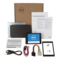 Dell 512GB internal Solid State Drive (SSD) Upgrade Kit for upgrading Dell Desktops and Notebooks - 2.5' SATA