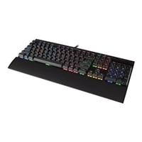 Corsair Gaming K70 RGB RAPIDFIRE Mechanical - Keyboard - backlit - USB - English - US - anodized brushed aluminum