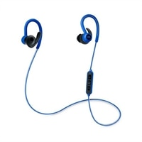 JBL Reflect Contour - Earphones with mic - in-ear - over-the-ear mount - wireless - Bluetooth - blue