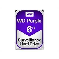 WD Purple Surveillance Hard Drive WD60PURZ - Hard drive - 6 TB - internal - 3.5-inch - SATA 6Gb/s - 5400 rpm - buffer...