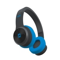 iHome iB88 - Headphones with mic - full size - wireless - Bluetooth