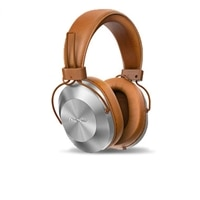 Pioneer SE-MS5T - Headphones with mic - full size - 3.5 mm jack - Tan