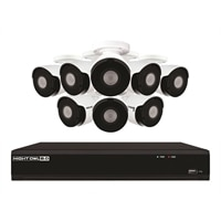 Night Owl IH802-88BA - NVR + camera(s) Wired - LAN 10/100 - 8 Channels - 1 x 2 TB - 8 Camera(s)