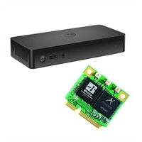 Dell Wireless Dock -D5000 and Wireless 1601 Wi-Fi Half Mini Card
