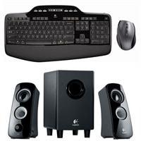 Logitech MK710 Wireless Desktop - Keyboard and Mouse set With Z323 2.1 Speaker System