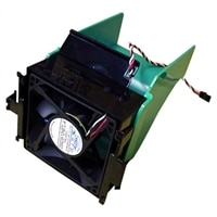 Refurbished: Assembly System Fan and Shroud for Dell Dimension 1100/ 3000/ 4600 (APG Video Card)/ 4600 (Integrated Graphics)/ B110 / OptiPlex 170L Desktops