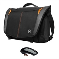 "Dell Messenger Mobility Bundle - Dell 17"" Adventure Messenger Bag + Dell WM311 Wireless Mouse"