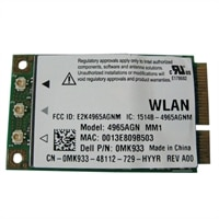 Dell Refurbished: 2.4/5 GHz 4965AGN Wireless-N PCI Express Mini-Card for Select Dell Latitude / Inspiron / XPS / Vostro Laptops / Precision Mobile WorkStation