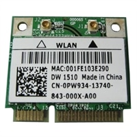 Refurbished: Dell Wireless 1510 Half-Height Mini Card for Select Dell Systems