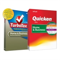 DL -Quicken Home & Bus. 2013 & DL -TurboTax Home & Bus. TY2012 VAL PK