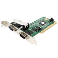 2-Port PCI RS232 Serial Adapter Card with 16550 UART