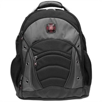 Swiss Gear Synergy Laptop Carrying Backpack - Fits Laptops with Screen Sizes Up to 15.6-inch - Black