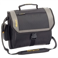 CityGear Atlanta Messenger Laptop Case - Fits Laptops with Screen Sizes up to 13.3-inch - Black