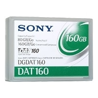 80 GB/160 GB DAT160 Data Cartridge - 1-Pack