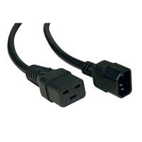 TrippLite IEC-320-C19 to IEC-320-C14 Heavy Duty 14AWG Power Cord - 2 ft