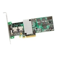 SAS9260-8I KIT RAID 8PORT INT 6GB SAS/SATA PCIE 2.0 512MB