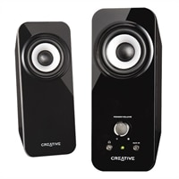 Inspire T12 2.0 Channel Speaker System - Black