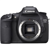 Canon EOS 7D Black 18MP SLR Camera (Body Only/No Lens Included)