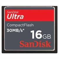SanDisk 16GB Ultra CompactFlash Memory Card