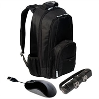 Targus Backpack Mobility Bundle- Fits laptops up to 17-inch