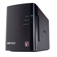 2 TB LinkStation Pro Duo NAS Hard Drive Array