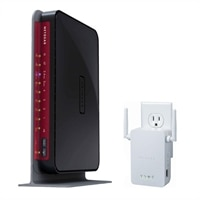 Personal Cloud Starter Kit: NETGEAR Wireless Dual-Band Gigabit Router + Wi-Fi Range Extender