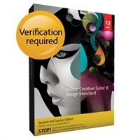 Adobe Creative Suite 6 Design Standard for Windows - Student and Teacher Edition