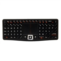 VisionTek Candyboard RF Wireless Mini Wing Keyboard with TouchPad
