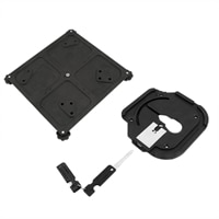 Noble Security Custom Plate-Lock for Optiplex 9010 AIO and 9020 AIO
