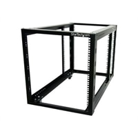 12U 4 Post Server Equipment Open Frame Rack Cabinet with ...